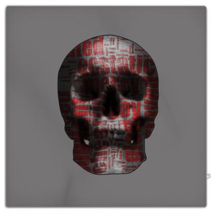Picnic Blanket - Cheerful Skull