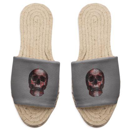 Sandal Espadrilles - Cheerful Skull
