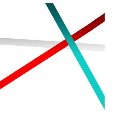Men's Swimming Shorts - Regal Stripes (White)