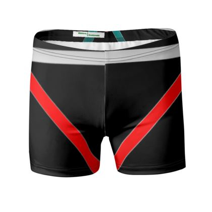 Swimming Trunks - Regal Stripes (Black)