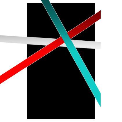 Towels - Regal Stripes (Black)