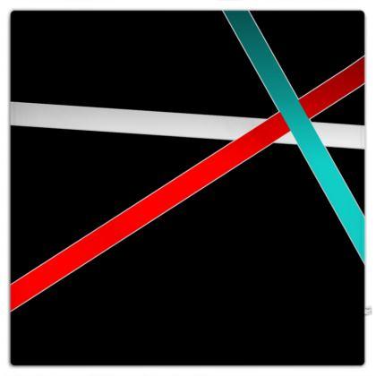 Picnic Blanket - Regal Stripes (Black)