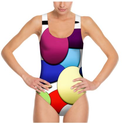 Swimsuit - Random Circles