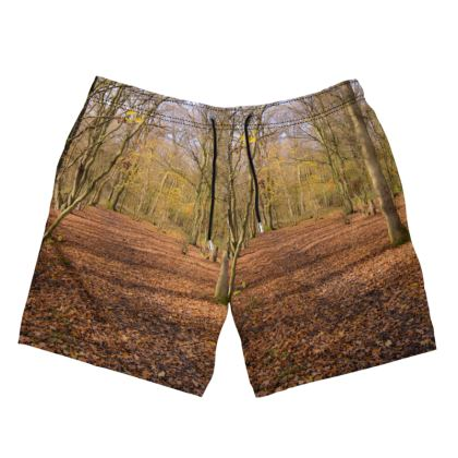 Men's Swimming Shorts - Open Clearing in Clapham Woods