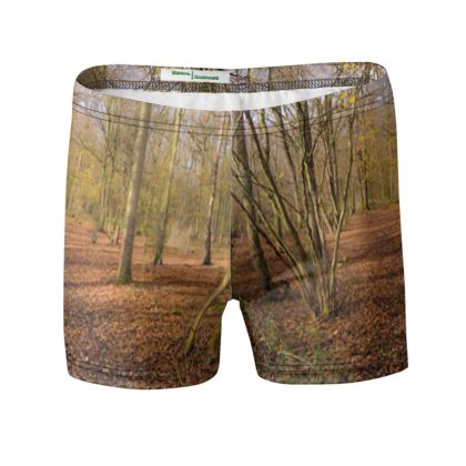 Swimming Trunks - Open Clearing in Clapham Woods
