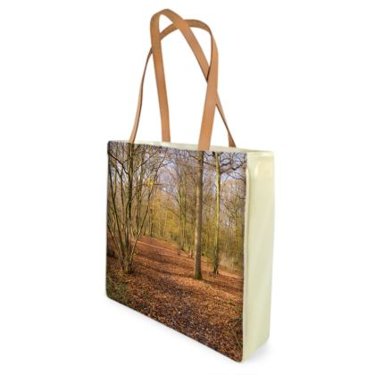 Beach Bag - Open Clearing in Clapham Woods