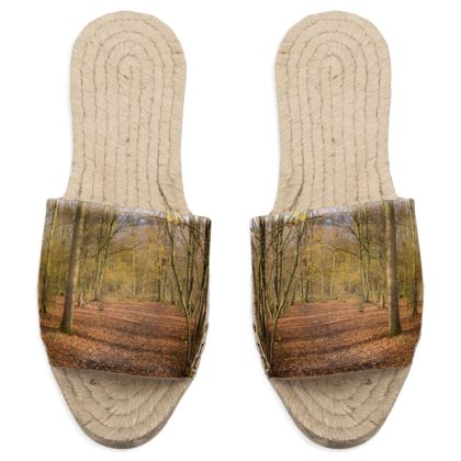 Sandal Espadrilles - Open Clearing in Clapham Woods
