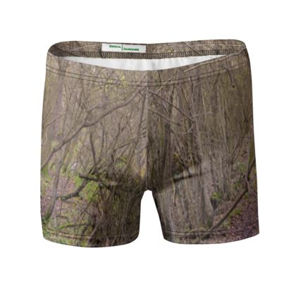 Swimming Trunks - Trail in the woods