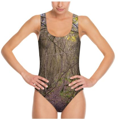 Swimsuit - Trail in the woods