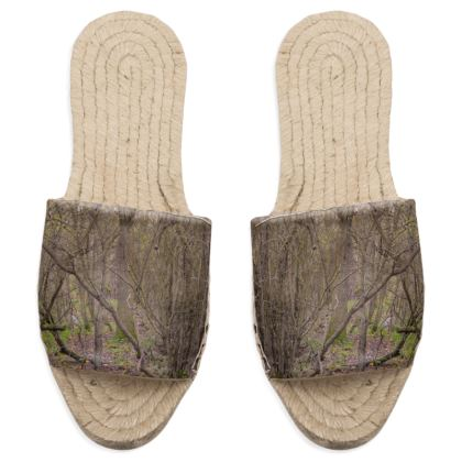 Sandal Espadrilles - Trail in the woods