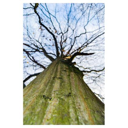 Men's Swimming Shorts - Vertical Tree