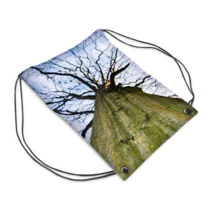 Swim Bag - Vertical Tree