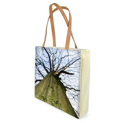 Beach Bag - Vertical Tree