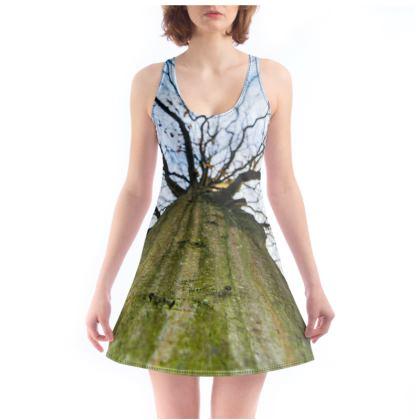 Beach Dress - Vertical Tree