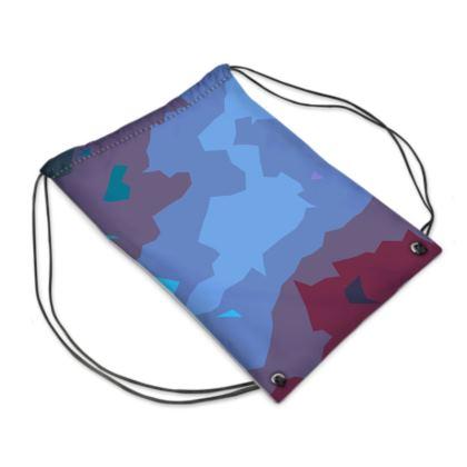 Swim Bag - Abstract Colours