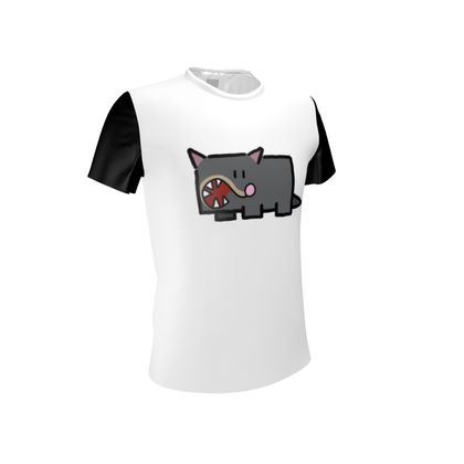 Cubes - Tasmanian Devil on Cut and Sew T Shirt