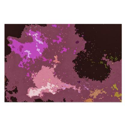 Sarong - Pink Ion Storm Abstract