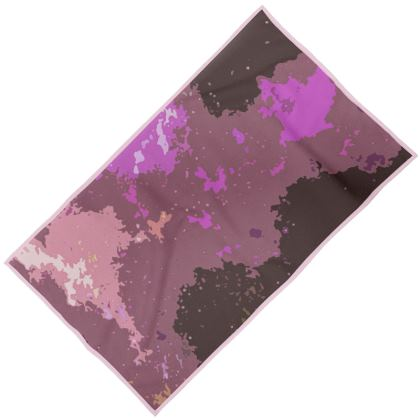 Towels - Pink Ion Storm Abstract