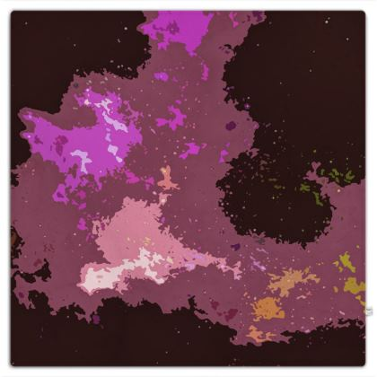 Picnic Blanket - Pink Ion Storm Abstract