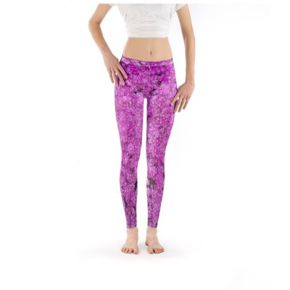 Leggings - Purple Ice Plant
