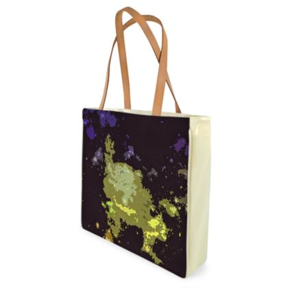 Beach Bag - Space Explosion Abstract