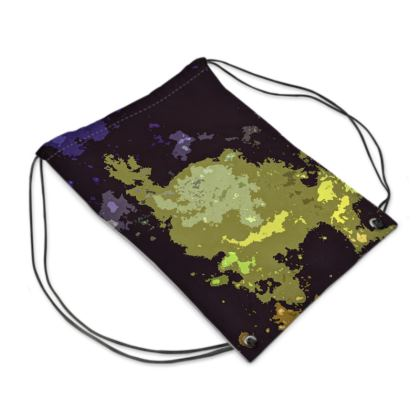 Swim Bag - Space Explosion Abstract