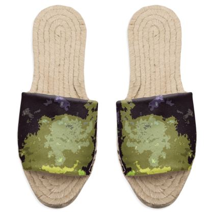 Sandal Espadrilles - Space Explosion Abstract