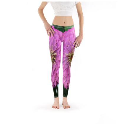 Leggings - Giant Zinnia