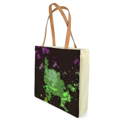 Beach Bag - Elerium Chemical Explosion Abstract