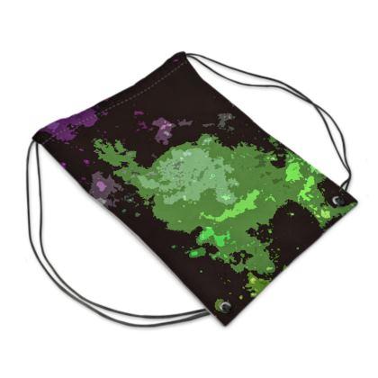 Swim Bag - Elerium Chemical Explosion Abstract