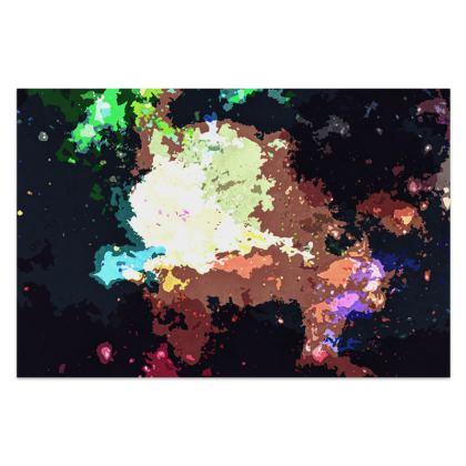 Sarong - Green Flame Creature Abstract