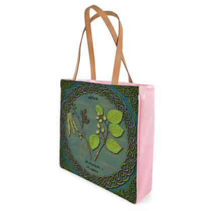 Tree Calendar Alder Shopper Bag