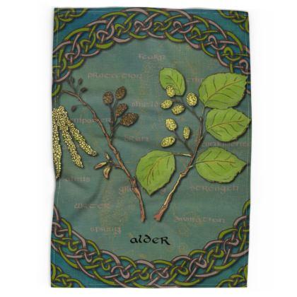 Celtic Alder Tea Towel