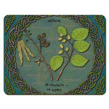 Tree Calendar Alder Placemats