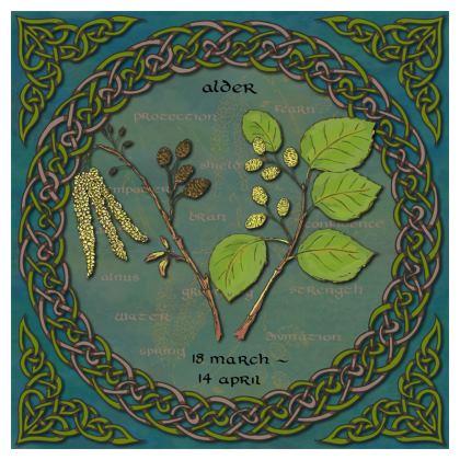 Tree Calendar Alder Cushion