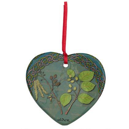 Celtic Alder Hanging Ornament