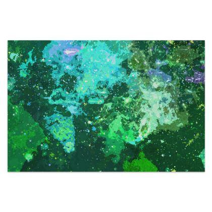 Sarong - Jade Nebula Galaxy Abstract