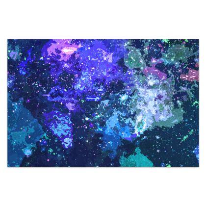 Sarong - Purple Nebula Galaxy Abstract