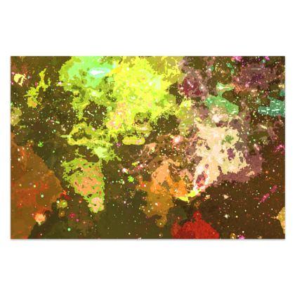 Sarong - Yellow Nebula Galaxy Abstract