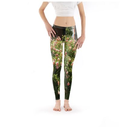Leggings - Profusion, English Rose