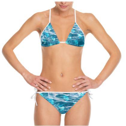 Bikini - Shark Ocean Abstract