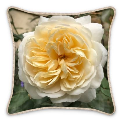 Silk Pillows - 'Crocus' Rose