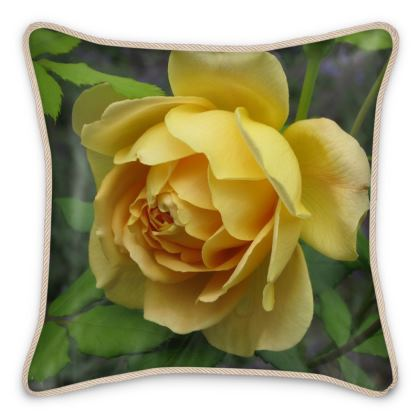 Silk Pillows - 'Graham Thomas' Rose