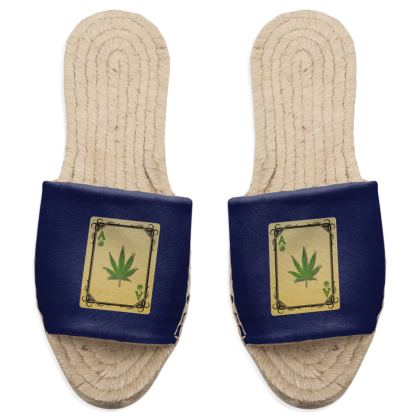 Sandal Espadrilles - Ace of Weed