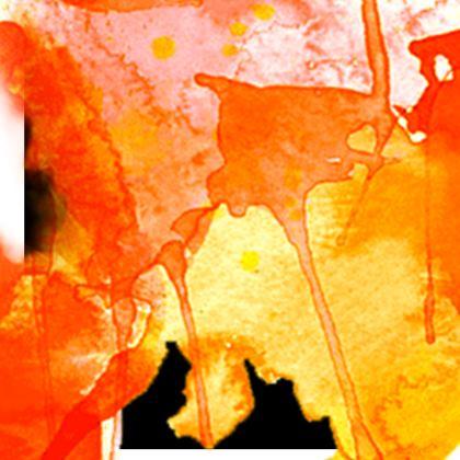 Kimono Jacket - Fire Man