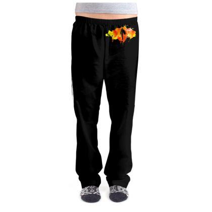 Ladies Pyjama Bottoms - Fire Man