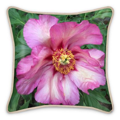 Silk Pillows - Pink Tree Peony