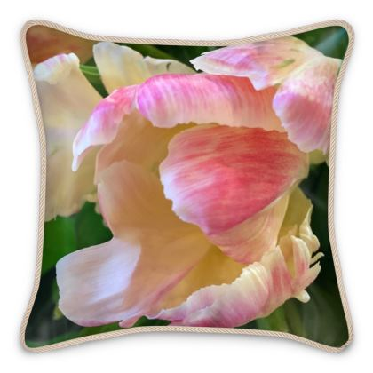 Silk Pillows - Roaring Tulip