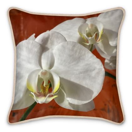 Silk Pillows - Butterfly Orchid