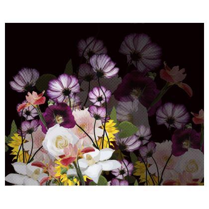 Kimono - Floral in Black
